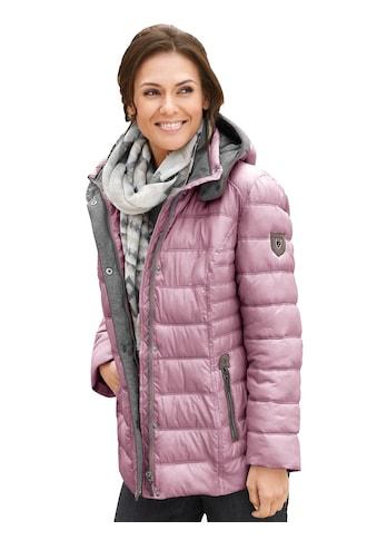 Casual Looks  Jacke im sportiven Steppmuster kaufen