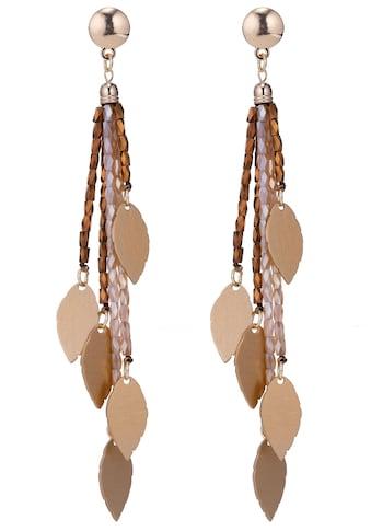 J.Jayz Paar Ohrstecker »mehrreihige Stränge mit Blätter verziert« kaufen