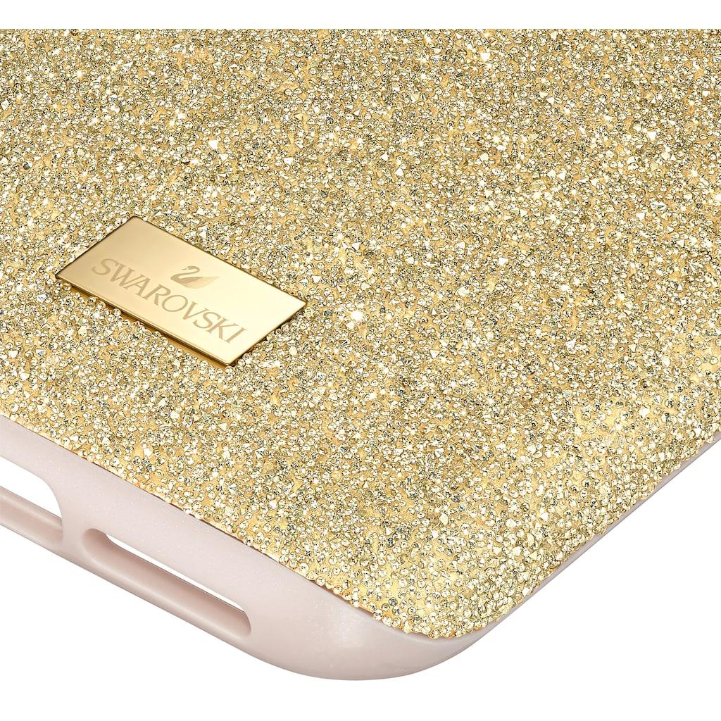 Swarovski Smartphone-Hülle »High Smartphone Schutzhülle mit integriertem Stoßschutz, iPhone® 11 Pro, goldfarben, 5533961«, iPhone 11 Pro, mit Swarovski® Kristallen