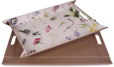 freeform Tablett »Blumenwiese«, mit Doppelfunktion, 35 x 45 cm kaufen