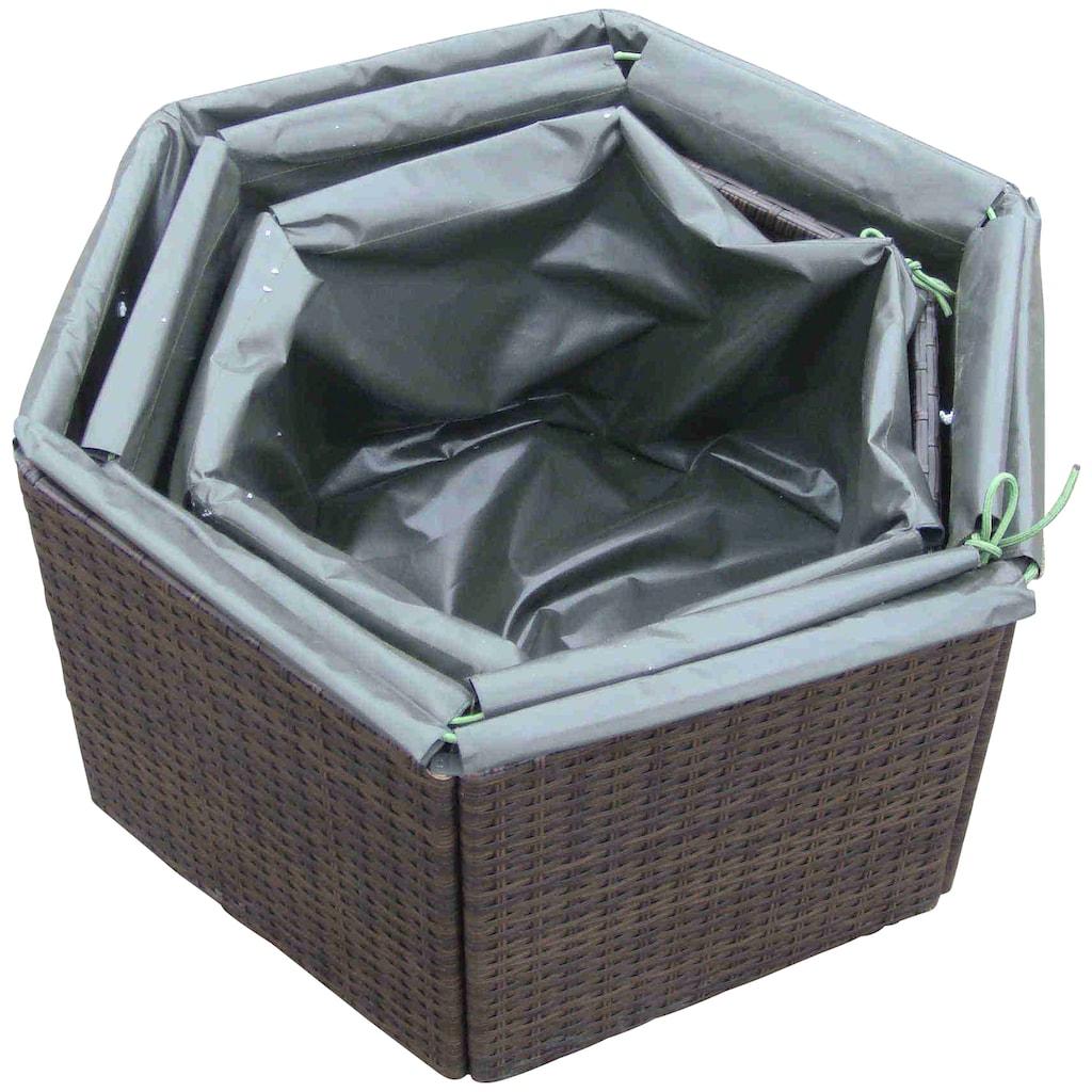 MERXX Pflanzkübel »Hexagon«, versch. Größen