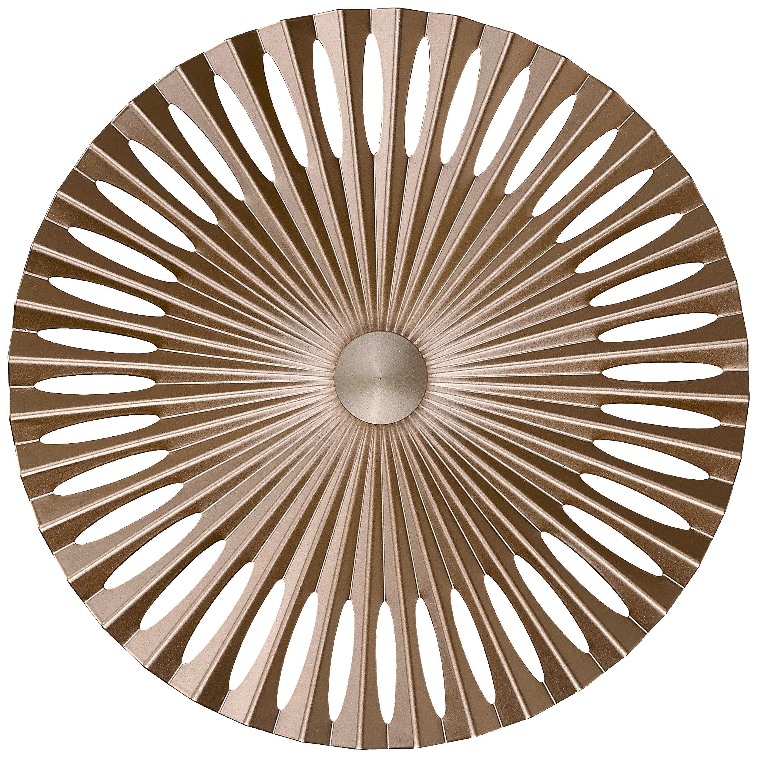 Brilliant Leuchten Phinx LED Wandleuchte 40cm braun/Kaffee