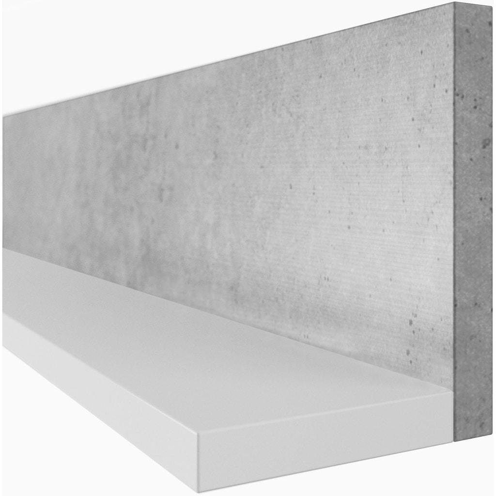 TRENDMANUFAKTUR Wandregal »Bota«, Breite 150 cm