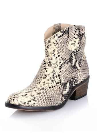 Alba Moda Stiefelette aus aufgerauhtem Rindsleder kaufen