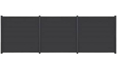 Kiehn - Holz Sichtschutzelement, LxH: 540x180 cm, Pfosten zum Aufschrauben kaufen