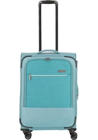 """travelite Weichgepäck - Trolley """"Arona, 66 cm, aqua"""", 4 Rollen kaufen"""
