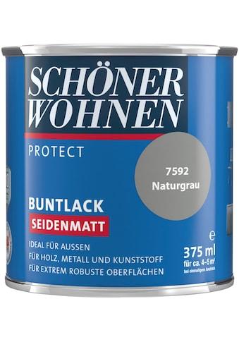 SCHÖNER WOHNEN-Kollektion Lack »Protect«, seidenmatt, 375 ml, naturgrau kaufen