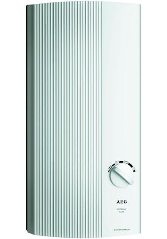 AEG Durchlauferhitzer »DDLE-BASIS 18/21/24«, Elektronische Lufterkennung kaufen
