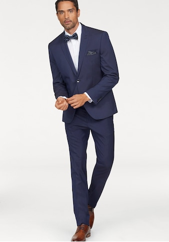 Bruno Banani Anzug (Set, 4 tlg., mit Fliege und Einstecktuch) kaufen