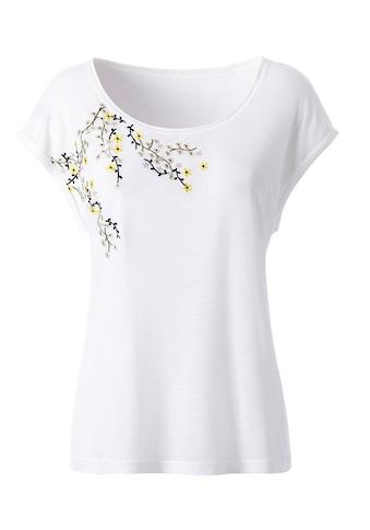 Classic Inspirationen Shirt mit schöner Stickerei kaufen