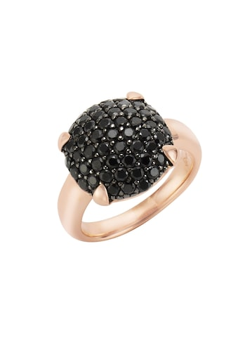 Jamelli Ring »925/ -  Sterling Silber rotvergoldet mit Onyx« kaufen