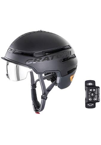 Cratoni Fahrradhelm »Pedelec Helm Smartride«, eingebautes Rücklicht und Blinker, mit Fernbedienung kaufen