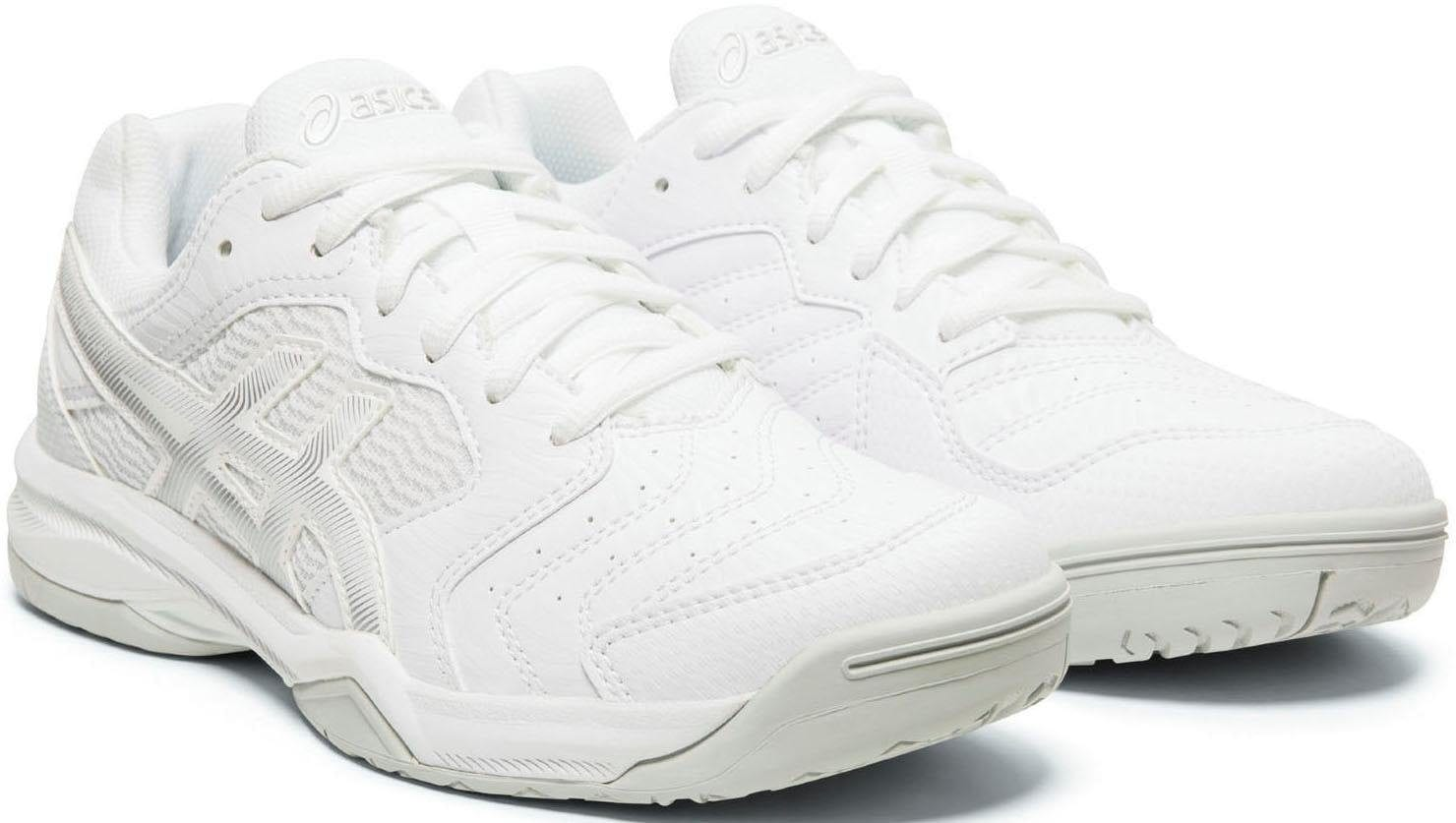 Asics Tennisschuh GEL-DEDICATE 6 weiß Tennisschuhe Sportschuhe Unisex