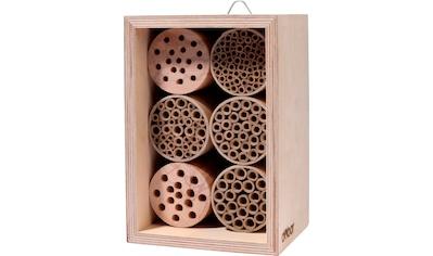 dobar Insektenhotel »Profi«, BxTxH: 15x12,5x22 cm, für Wildbienen kaufen