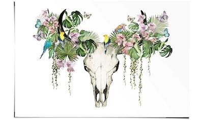 Reinders! Poster »Tropic Skull«, (1 St.) kaufen