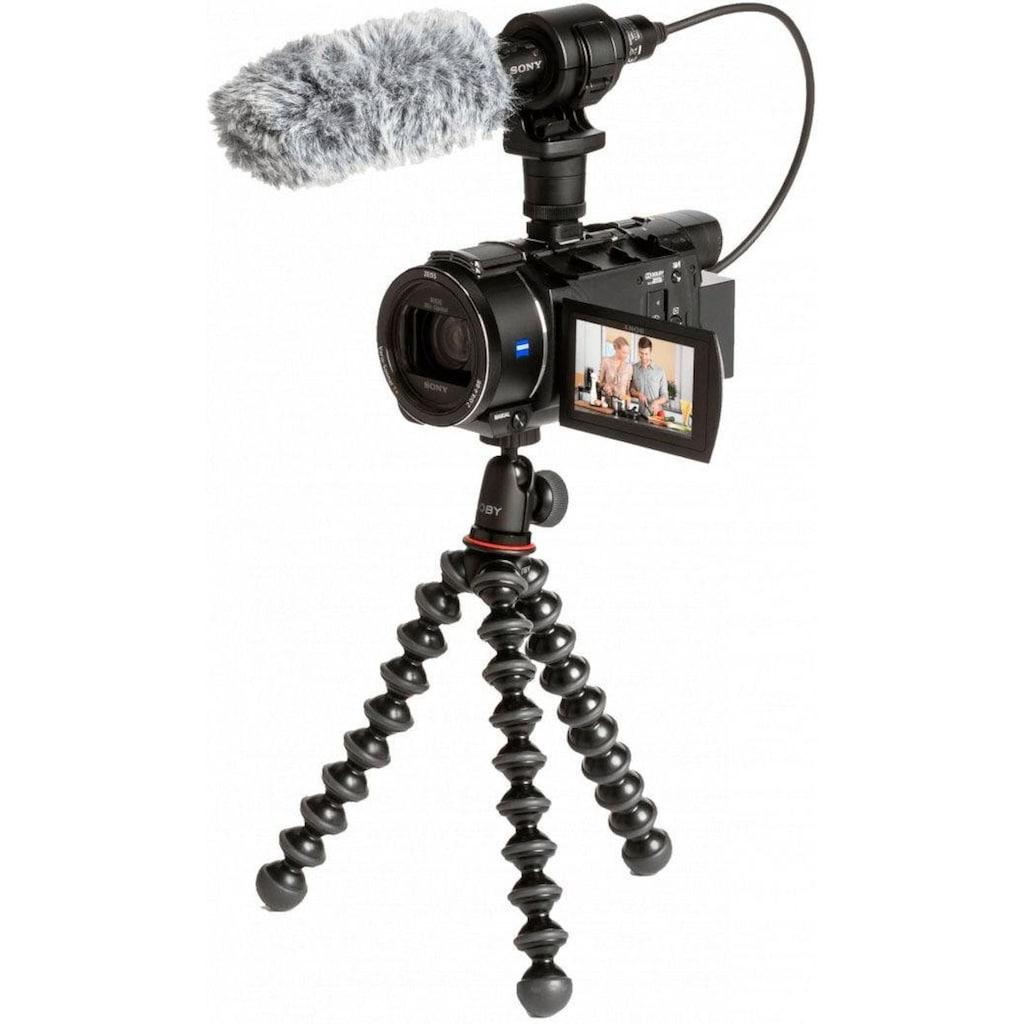 Sony Camcorder »FDRAX53VGPDI.EU«, 4K Ultra HD, NFC-WLAN (Wi-Fi), 20x opt. Zoom, inkl. CG-60 Mikrofon & JOBY GorillaPod