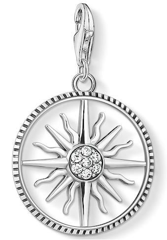 THOMAS SABO Charm-Einhänger »Sonne groß, 1764-643-14«, mit Zirkonia kaufen