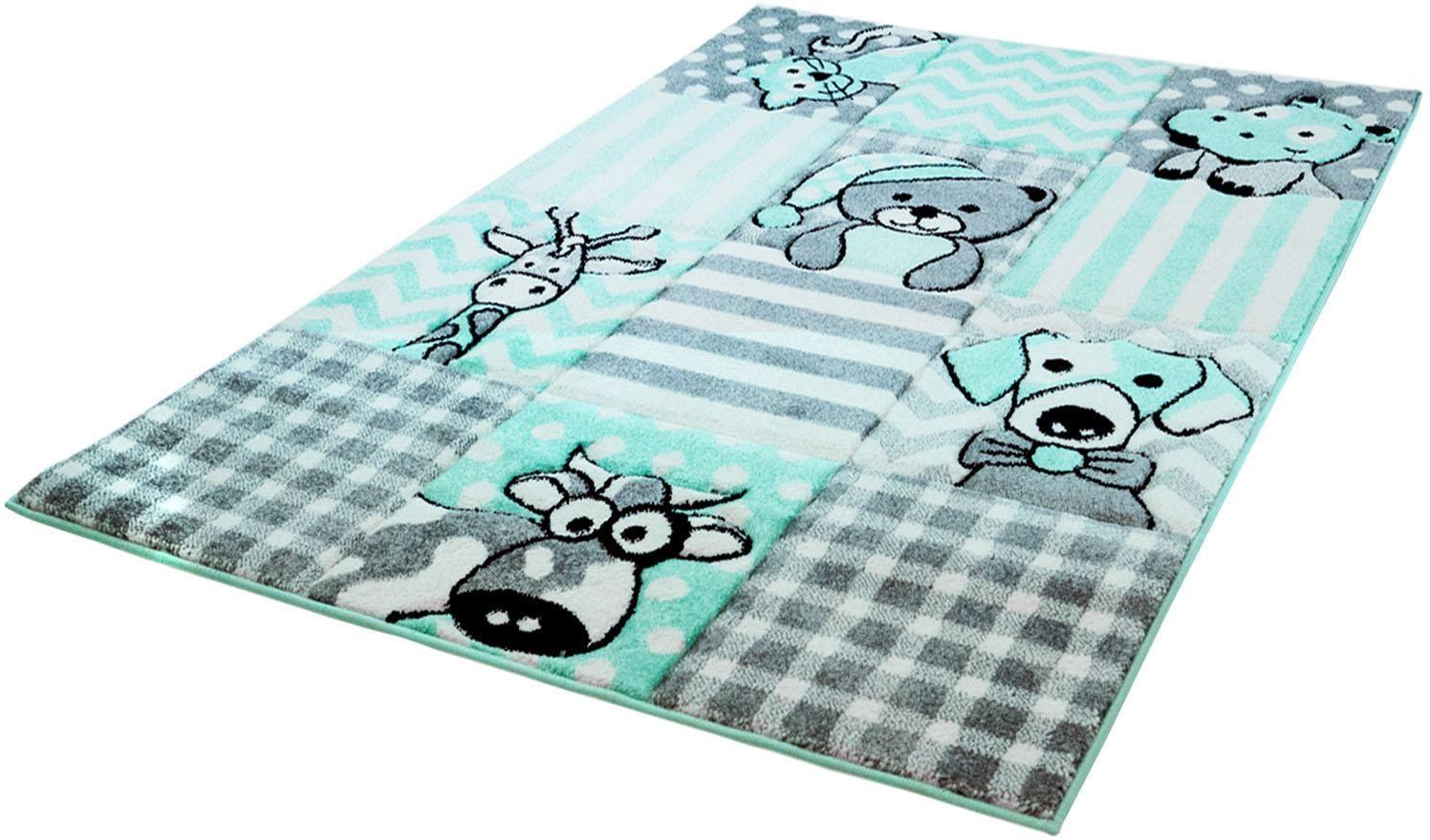 Kinderteppich Bueno Kids 1390 Carpet City rechteckig Höhe 13 mm maschinell zusammengesetzt