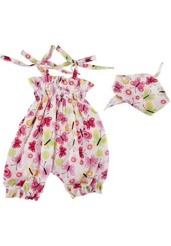 Käthe Kruse Puppenkleidung »Jumpsuit Schmetterlingmotiv«, (2 tlg.) kaufen