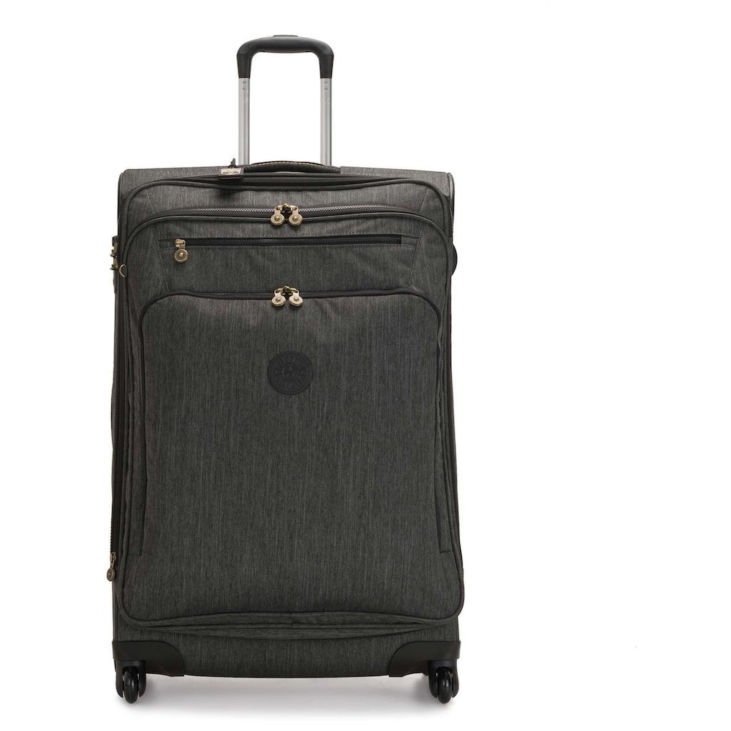KIPLING Weichgepäck-Trolley »Youri Spin, 78 cm, Black Indigo«