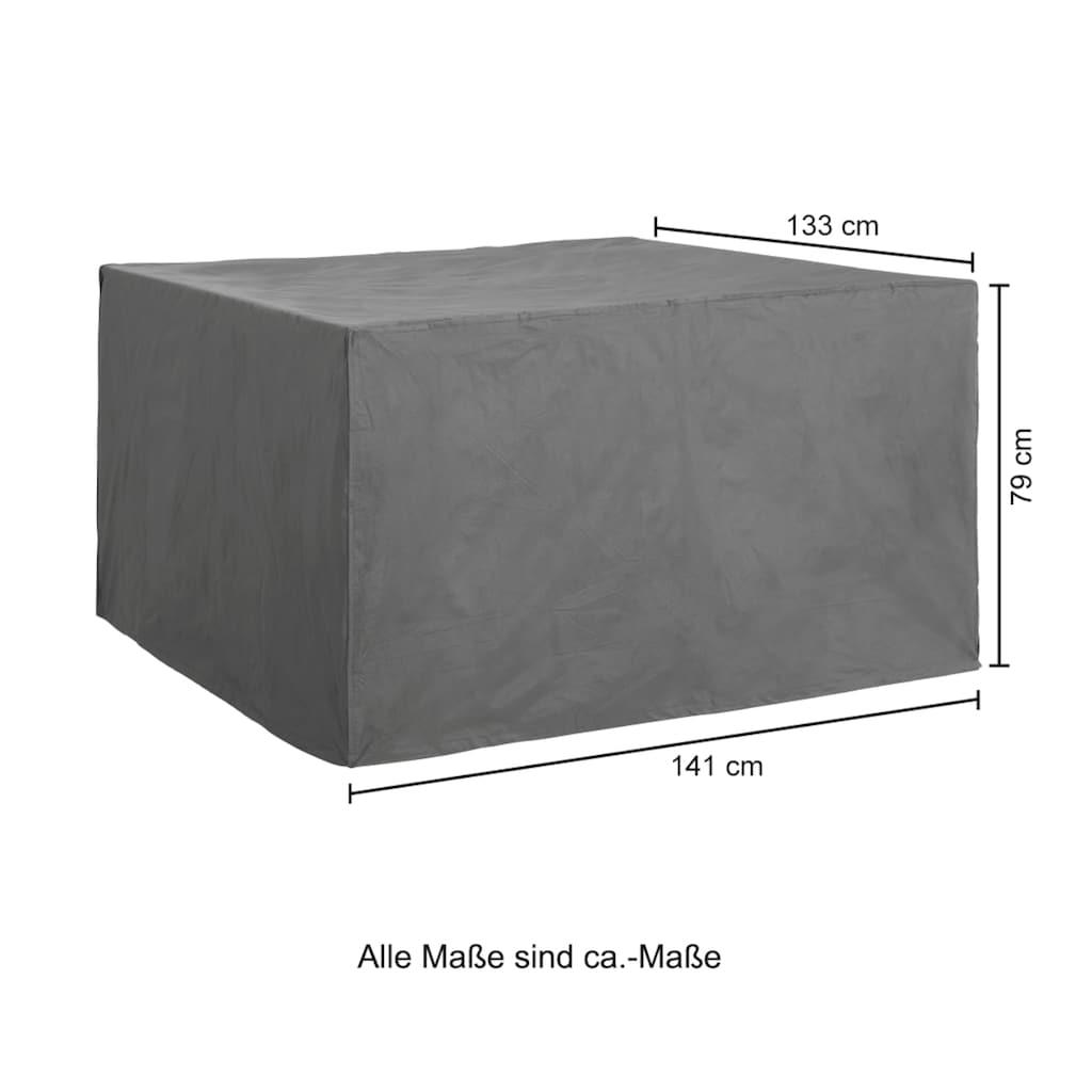 KONIFERA Gartenmöbel-Schutzhülle, LxBxH: 141x133x79 cm