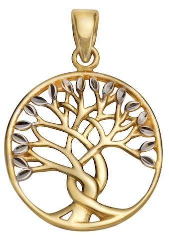 Firetti Runder Anhänger »Lebensbaum«, rund, glanz, bicolor kaufen