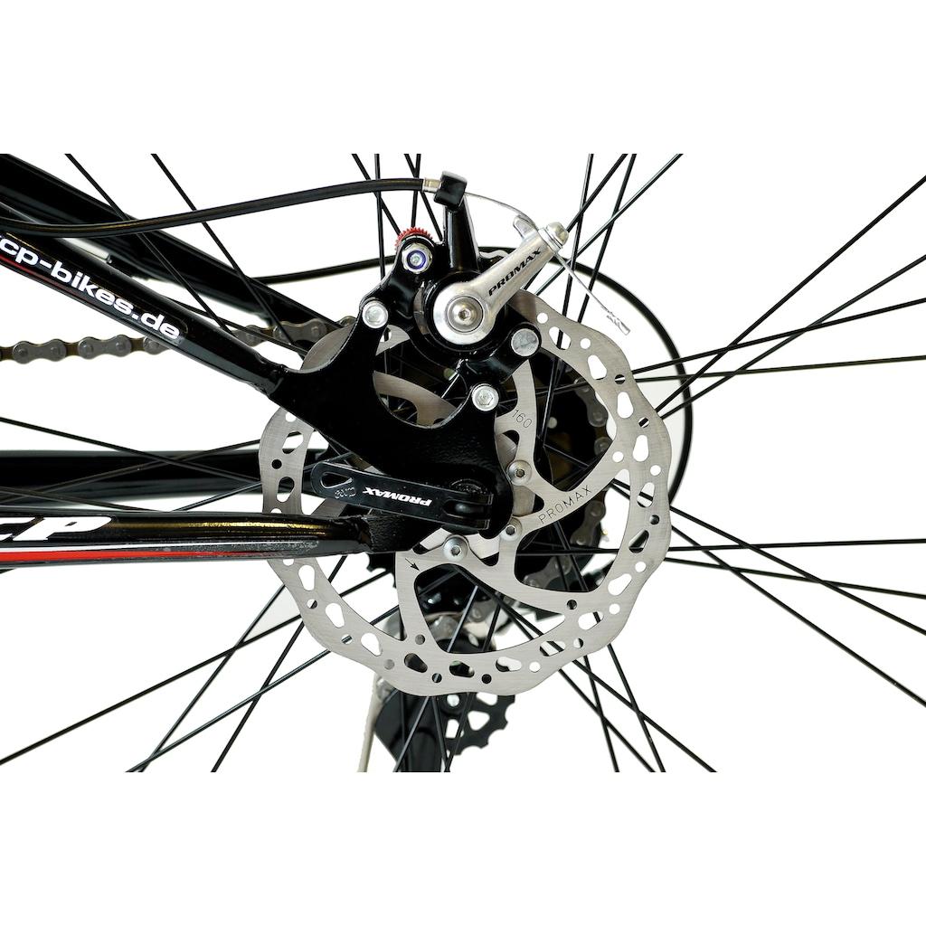 KCP Mountainbike »Attack«, 21 Gang Shimano Tourney RD-TY300-GS Schaltwerk, Kettenschaltung (1-tlg.)