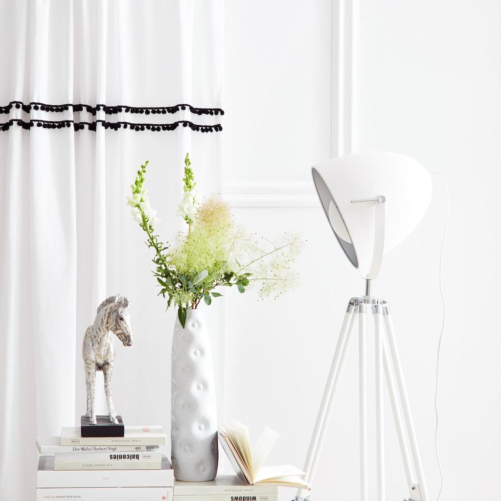 Home affaire Gardine »Kaveri«, Vorhang, Fertiggardine, halbtransparent