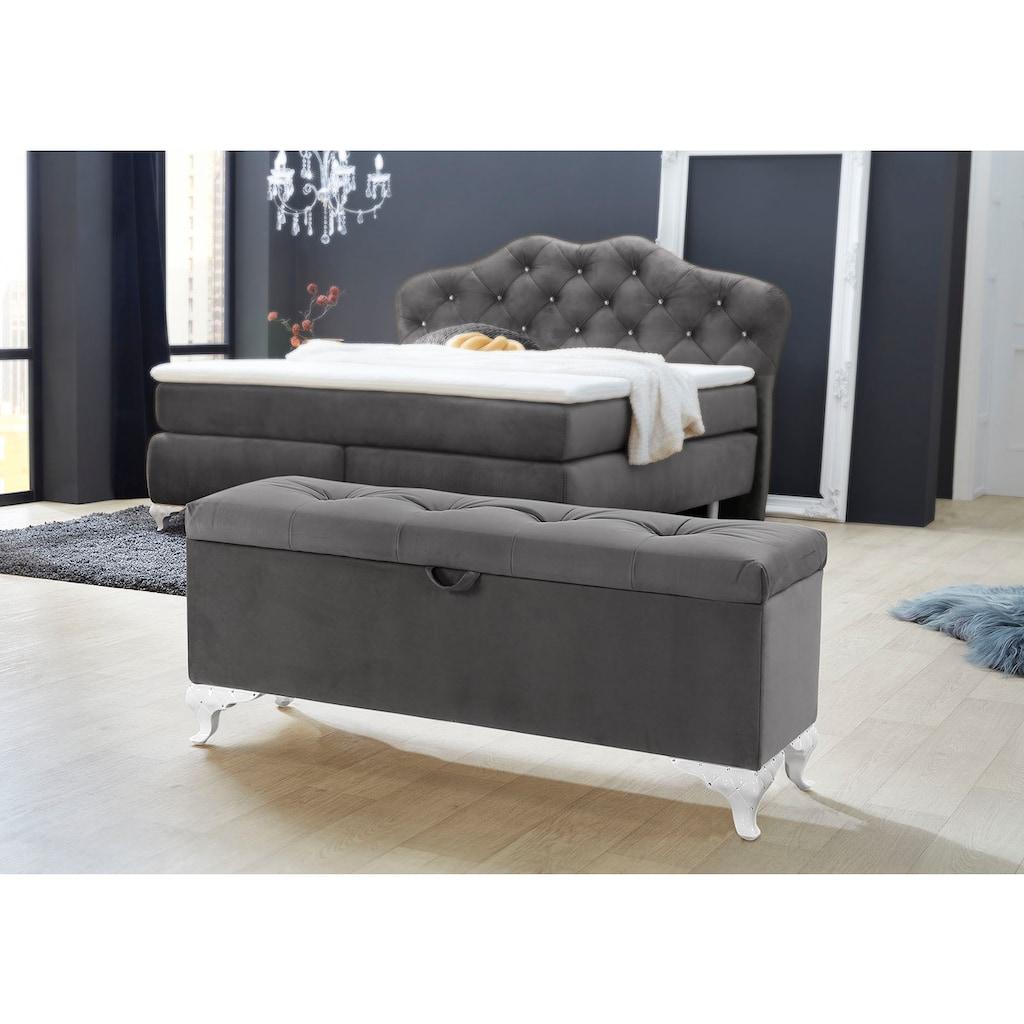 Jockenhöfer Gruppe Bettbank, mit Stauraum
