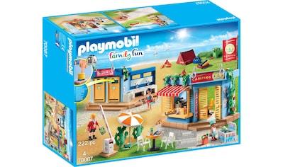 "Playmobil® Konstruktions - Spielset ""Großer Campingplatz, »Family Fun«"", Kunststoff kaufen"