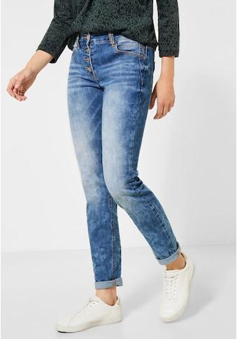 Cecil Loose-fit-Jeans, mit Crash-Effekt kaufen
