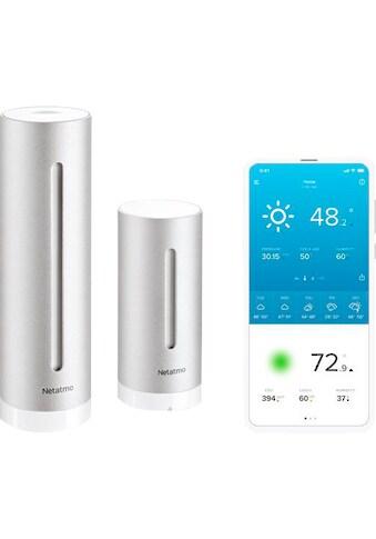 Netatmo Wetterstation »Smarte Wetterstation + Regenmesser« kaufen