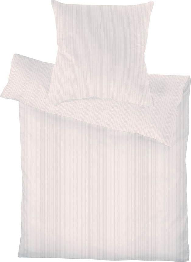 Bettwäsche »Leni«, Schlafgut | Heimtextilien > Bettwäsche und Laken > Bettwäsche-Garnituren | Rosa | Baumwolle | SCHLAFGUT