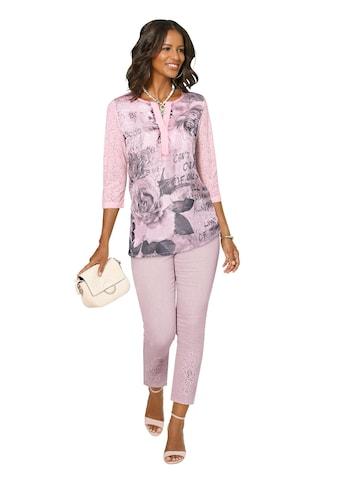 Alessa W. Shirt mit floralem Druckmotiv vorne kaufen