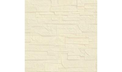 Rasch Vinyltapete »Factory III«, gemustert-Steinoptik kaufen