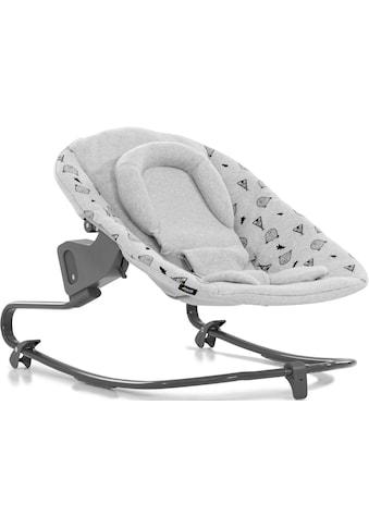 Hauck Hochstuhlaufsatz »Alpha Bouncer Premium, Nordic Grey« bis, 9 kg, für Neugeborene... kaufen