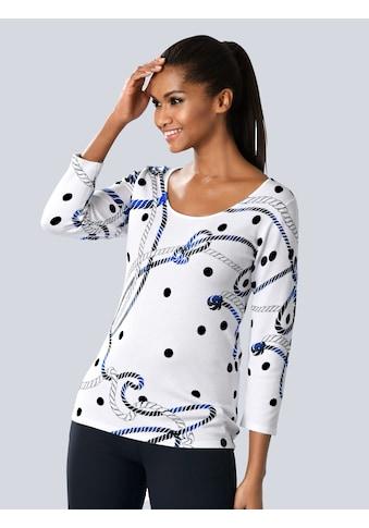 Alba Moda Pullover im Alba Moda exklusivem Print kaufen