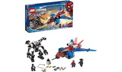LEGO® Konstruktionsspielsteine »Spiderjet vs. Venom Mech (76150), LEGO® Marvel Super... kaufen
