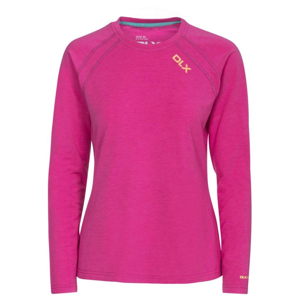 Trespass Langarmshirt »Damen Langarmtop Cali DLX, antibakteriell, schnelltrocknend«