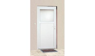 KM Zaun Haustür »K601P«, BxH: 98 x 193 cm, weiß, in 2 Varianten kaufen