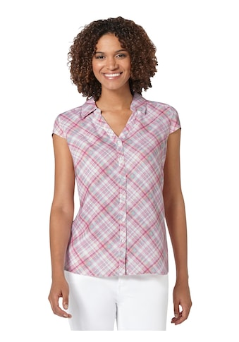 Casual Looks Bluse im modischen Karodessin kaufen
