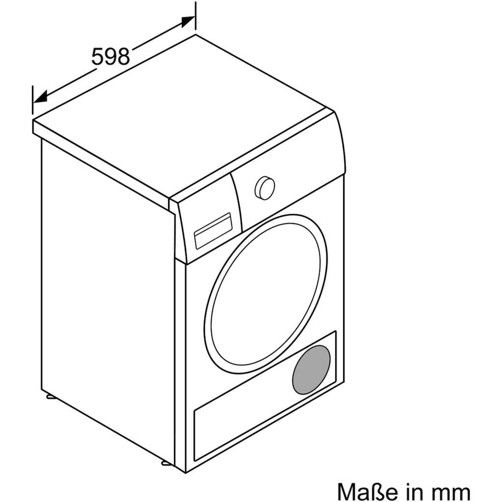 BOSCH Wärmepumpentrockner »WTX87E40«