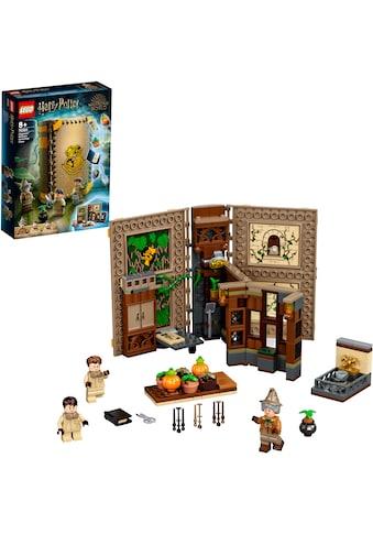 LEGO® Konstruktionsspielsteine »Hogwarts™ Moment: Kräuterkundeunterricht (76384),... kaufen