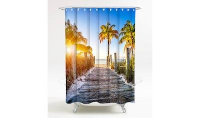 Sanilo Duschvorhang »Fort Lauderdale«, Breite 180 cm, Höhe 200 cm kaufen