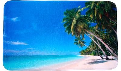 Sanilo Badematte »Karibik«, Höhe 15 mm, schnell trocknend, Memory Schaum kaufen