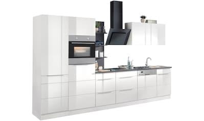 HELD MÖBEL Küchenzeile »Brindisi«, mit E - Geräten, Breite 340 cm kaufen