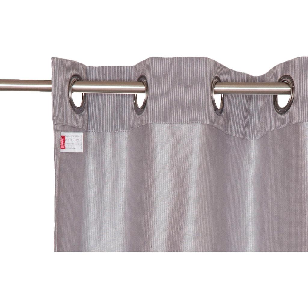Esprit Vorhang »Needlestripe«, HxB: 250x140