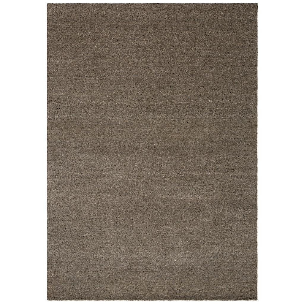 Theko Exklusiv Wollteppich »Janne«, rechteckig, 14 mm Höhe, reine Wolle, Wohnzimmer