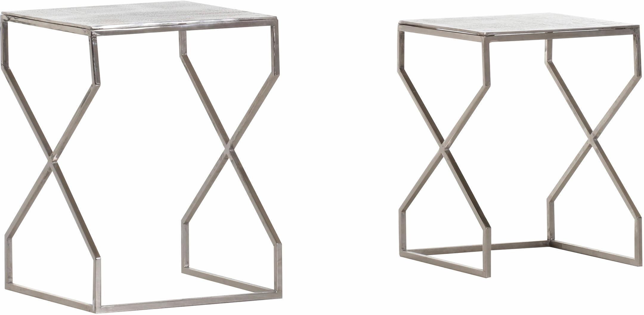 Gutmann Factory Beistelltisch Mix&Match, (Set, 2 St.) grau Beistelltische Tische
