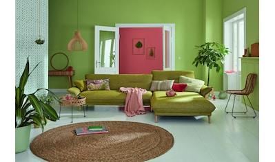 hülsta sofa Ecksofa »hs.430«, Recamiere hoher Rücken mit Neigefunktion, Breite 305 cm kaufen